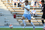 23 October 2015: North Carolina's Alan Winn. The University of North Carolina Tar Heels hosted the University of Louisville Cardinals at Fetzer Field in Chapel Hill, NC in a 2015 NCAA Division I Men's Soccer match. UNC won the game 2-1.