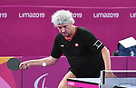 Ian Kent competes in mens table tennis at the 2019 ParaPan American Games in Lima, Peru-22aug2019-Photo Scott Grant