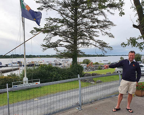 Lough Ree Yacht Club Race Officer Alex Hobbs