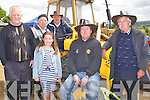 Taking in the sun at Kilflynn Vintage Rally, on Sunday L-r: Jack and Louise Joy (Ballyduff), Eddie Lenihan,John and Mauricr O'Connor, Noel Lenihan (Ardfert)........