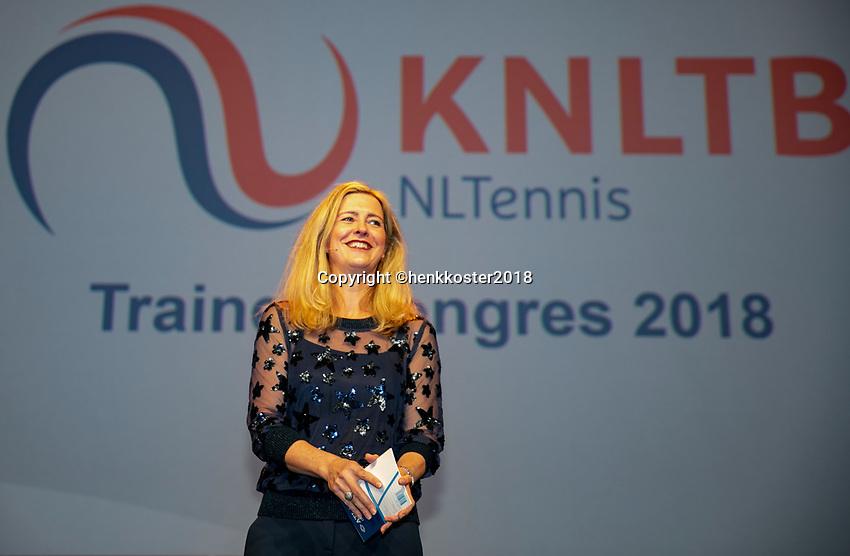 Nieuwegein,  Netherlands, 9 November 2018, Coaches congress KNLTB, Kristy Boogert<br /> Photo: Tennisimages.com/Henk Koster