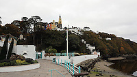 Portmeirion, north Wales, UK. Saturday 29 October 2016