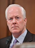 Washington, DC - July 14, 2009 -- United States Senator John Cornyn (Republican of Texas) listens to the testimony of Judge Sonia Sotomayor during her testimony before the U.S. Senate Judiciary Committee on her nomination as Associate Justice of the U.S. Supreme Court on Tuesday, July 14, 2009..Credit: Ron Sachs / CNP