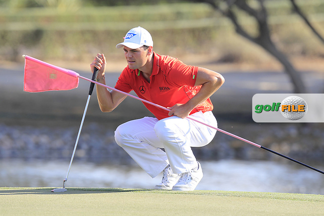 Martin Kaymer (GER) on the 13th green during Pink Friday's Round 2 of the 2015 Omega Dubai Desert Classic held at the Emirates Golf Club, Dubai, UAE.: Picture Eoin Clarke, www.golffile.ie: 1/30/2015
