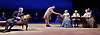 Three Days in the Country<br /> by Patrick Marber, after Turgenev <br /> at the Lyttelton Theatre, NT, Southbank, London, Great Britain <br /> <br /> 27 July 2015 <br /> <br /> John Simm<br /> <br /> Mark Gatiss<br /> <br /> Lynn Farleigh<br /> <br /> <br /> Photograph by Elliott Franks <br /> Image licensed to Elliott Franks Photography Services