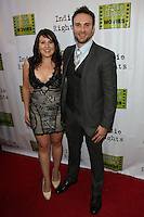 LOS ANGELES, CA - April 18, 2014:   Ashley Melvin and Bryan Kaplan attend the Fray Movie Premiere, California. April 18, 2014. Credit:RD/Starlitepics /NortePhoto