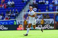 HARRISON, NJ - SEPTEMBER 29: Sydney Leroux #2 of the Orlando Pride enters the game during a game between Orlando Pride and Sky Blue FC at Red Bull Arena on September 29, 2019 in Harrison, New Jersey.