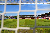 A general view of St James Park, home of Exeter City FC<br /> <br /> Photographer Andrew Vaughan/CameraSport<br /> <br /> The EFL Sky Bet League Two Play Off Second Leg - Exeter City v Lincoln City - Thursday 17th May 2018 - St James Park - Exeter<br /> <br /> World Copyright &copy; 2018 CameraSport. All rights reserved. 43 Linden Ave. Countesthorpe. Leicester. England. LE8 5PG - Tel: +44 (0) 116 277 4147 - admin@camerasport.com - www.camerasport.com