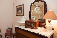 Bonita Springs Historical Society's exhibit of a 1930s bedroom at the Liles Hotel, Bonita Springs, Florida, USA, Dec. 21, 2011. Photo by Debi Pittman Wilkey
