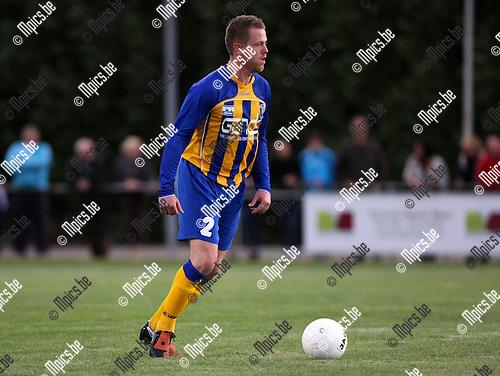 2009-09-12 / Voetbal / seizoen 2009-2010 / KFCO Wilrijk - FC Duffel / Geoffrey Peytier..Foto: Maarten Straetemans (SMB)