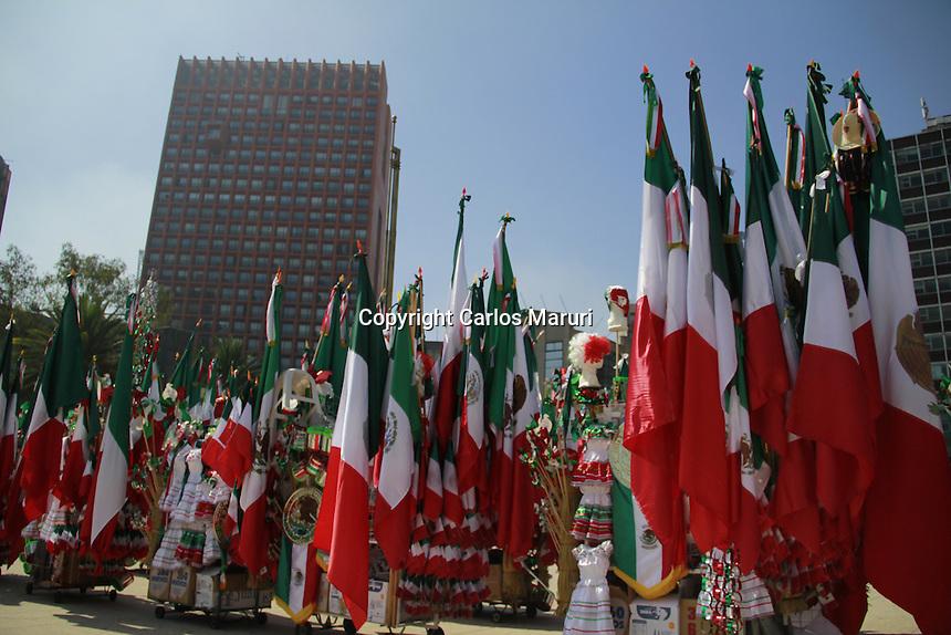 M&eacute;xico DF 03/Septiembre/2015.<br /> Aspectos de art&iacute;culos referentes a las fiestas patrias, que se realizan en este mes de Septiembre en toda la Rep&uacute;blica Mexicana.<br /> Todos los derechos reservados.