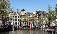 Nederland -  Amsterdam -  april 2019.    De Herengracht.    Foto Berlinda van Dam / Hollandse Hoogte