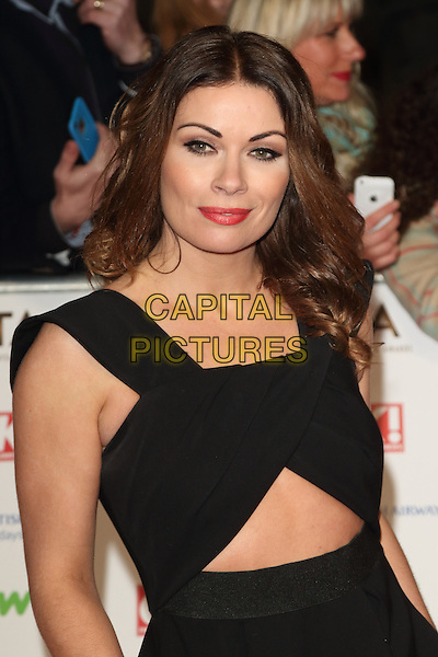 LONDON, ENGLAND - Alison King at the National Television Awards 2016 Red Carpet arrivals at the O2 Arena on January 20th 2016 in London, EnglandCAP/ROS<br /> &copy;ROS/Capital Pictures