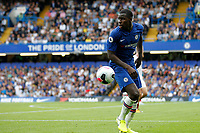 Kurt Zouma of Chelsea in action during the Premier League match between Chelsea and Sheff United at Stamford Bridge, London, England on 31 August 2019. Photo by Carlton Myrie / PRiME Media Images.