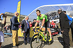 Tom Van Asbroeck (BEL) Cannondale-Drapac at sign on for the 115th edition of the Paris-Roubaix 2017 race running 257km Compiegne to Roubaix, France. 9th April 2017.<br /> Picture: Eoin Clarke | Cyclefile<br /> <br /> <br /> All photos usage must carry mandatory copyright credit (&copy; Cyclefile | Eoin Clarke)