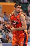 League ACB-ENDESA 2017/2018. Game: 30.<br /> Divina Seguros Joventut vs Valencia Baket Club: 77-75.<br /> Alberto Abalde.