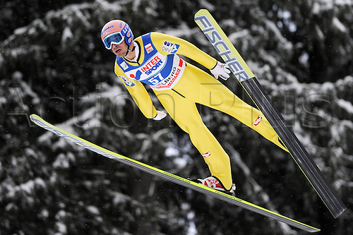 17 12 2010 Ski Nordic FIS WC Engelberg Switzerland  Ski jumping FIS World Cup Picture shows Andreas Kofler AUT