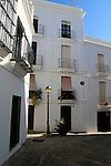 Whitewashed buildings in Vejer de la Frontera, Cadiz Province, Spain