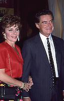 Regis Philbin & Wife Joy Philbin 1987 By Jonathan Green