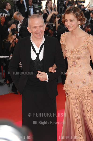 "Jean-Paul Gaultier at world premiere for ""Ocean's Thirteen"" at the 60th Annual International Film Festival de Cannes..May 24, 2007  Cannes, France..© 2007 Paul Smith / Featureflash"