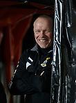 Inverness boss John Hughes having a chuckle