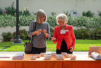 Jane (Zimmerman) Ettinger '81 and Anne Wilson Cannon '74<br /> Occidental College launched the public phase of the Oxy Campaign For Good, a comprehensive effort to raise $225 million to strengthen its financial aid endowment and academic and co-curricular programs, at a May 18, 2019 Campaign Leadership Summit on the Occidental campus. More than 100 Oxy community members participated, getting a first-hand look at current programs and celebrated what the Campaign means for the future of Oxy.<br /> (Photo by Marc Campos, Occidental College Photographer)