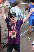 Chris Evans<br /> at the finish line on The Mall at the 2017 London Marathon, London. <br /> <br /> <br /> &copy;Ash Knotek  D3254  23/04/2017