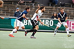AMSTELVEEN  -  Valentin Verga (Adam)    Hoofdklasse hockey ,competitie, heren, Amsterdam-Pinoke (3-2)  . COPYRIGHT KOEN SUYK