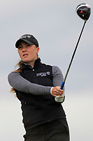 Hazel MacGarvie (SCO) on the 8th tee during Round 3 Matchplay of the Women's Amateur Championship at Royal County Down Golf Club in Newcastle Co. Down on Friday 14th June 2019.<br /> Picture:  Thos Caffrey / www.golffile.ie