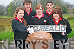 Students at Meanscoil Nua An Leigh Triuigh are preparing to bring their project to the All ireland Enterprise finals on April 18th.