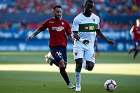 Neyder (defender; Elche CF) during the Spanish <br /> la League soccer match between CA Osasuna and Elche CF at Sadar stadium, in Pamplona, Spain, on Saturday, <br /> agost 26, 2018.