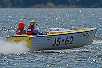 """Douglas Whichello, JS-62 """"Red Neck Yacht"""" (Jersey Speed Skiff)"""