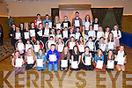 Students of the Kerry School of Music were present with Certificates at an Awards evening at Ballyroe Heights Hotel on Sunday