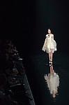 October 20th, 2011: Tokyo, Japan – A model walks down the catwalk wearing araisara during Mercedes-Benz Fashion Week Tokyo 2012 Spring/Summer. The Mercedes-Benz Fashion Week Tokyo runs from October 16-22. (Photo by Yumeto Yamazaki/AFLO)