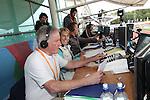 IPC European Athletics Championship 2014<br /> Media,  John Rawling, Katharine Merry & Danny Crates.<br /> Swansea University<br /> <br /> 21.08.14<br /> ©Steve Pope-SPORTINGWALES