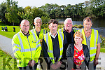 NWEKD Feature Listowel River Walk Pictured l-r Donal Foley, Tim Barry, Donal Moloney, James Buckley, Mike Galvin and Anita Bodenham who is Rural Social Scheme supervisor for North,West,East,Kerry Development.