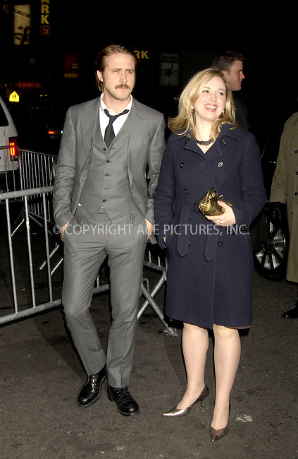 WWW.ACEPIXS.COM . . . . ....December 7, 2007, New York City....Ryan Gosling and his sister Mandy Gosling attend the NY Film Critics Awards.....Please byline: KRISTIN CALLAHAN - ACEPIXS.COM.. . . . . . ..Ace Pictures, Inc:  ..(212) 243-8787 or (646) 679 0430..e-mail: picturedesk@acepixs.com..web: http://www.acepixs.com