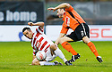 06/11/2010   Copyright  Pic : James Stewart.sct_jsp003_hamilton_v_dundee_utd  .:: DOUGIE IMRIE FIGHTS OFF SEAN DILLON   ::.James Stewart Photography 19 Carronlea Drive, Falkirk. FK2 8DN      Vat Reg No. 607 6932 25.Telephone      : +44 (0)1324 570291 .Mobile              : +44 (0)7721 416997.E-mail  :  jim@jspa.co.uk.If you require further information then contact Jim Stewart on any of the numbers above.........