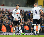 Tottenham's Dele Alli looks on dejected at the final whistle<br /> <br /> - English Premier League - Tottenham Hotspur vs Arsenal  - White Hart Lane - London - England - 5th March 2016 - Pic David Klein/Sportimage