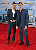 Jonathan Goldstein &amp; John Francis Daley at the world premiere for &quot;Spider-Man: Homecoming&quot; at the TCL Chinese Theatre, Los Angeles, USA 28 June  2017<br /> Picture: Paul Smith/Featureflash/SilverHub 0208 004 5359 sales@silverhubmedia.com