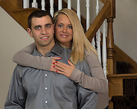 John & Amanda's engagement session, March 17, 2013 in Poland Ohio.
