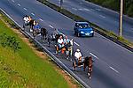 Passeio em carroça, Jundiaí, São Paulo. 2004. Foto de Juca Martins.
