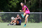 CARY, NC - JUNE 01: Ashley Hatch. The North Carolina Courage held a training session on June 1, 2017, at WakeMed Soccer Park Field 7 in Cary, NC.