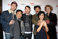"""Patrick Fugit, Paul Chamberlain, Kenny Riches, Robet """"Meatball"""" Lorie, Ashly Burch, Lisa Banes<br /> TINDER ARTS & CINEMA CENTRE hosts the cast party for THE STRONGEST MAN, Vinto, Park City, UT 01-25-15<br /> David Edwards/DailyCeleb.com 818-915-4440"""