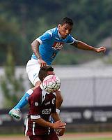 Allan durante l'amichevole precampionate tra Napoli e Cittadella   Dimaro 29 Luglio 2015<br /> <br /> Friendly soccer match between   SSC Napoli  in Dimaro Italy July 28, 2015