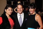 From left: Marcy de Luna, Rocky Mafrige and Mauney Mafrige at a fundraiser for Deck My Room at Tootsies Tuesday  Feb. 12, 2013.(Dave Rossman/ For the Chronicle)