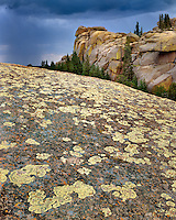 Rock formations at Vedauwoo Rocks in Medicine Bow National Forest Wyoming