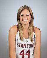 Stanford, Ca - September 20, 2016: The Stanford Cardinal Women's Basketball Team