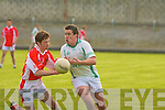 St Kieran's Michael McCarthy and West Kerry's Gearoid Fitzgerald.