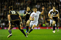 Ben Youngs of England in action during the RBS 6 Nations match between England and Scotland at Twickenham on Saturday 02 February 2013 (Photo by Rob Munro)